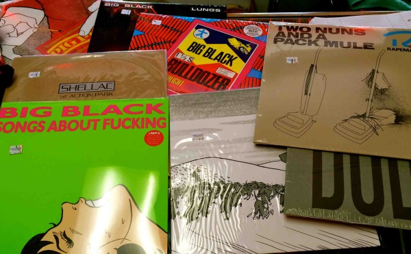 Steve Albini(Big Black/Raoeman/Shellac) vinyls in stock///
