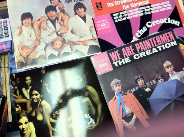 Vinyl catch of the day